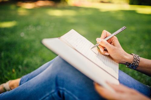8 Tips om schrijven als rustmoment te ervaren