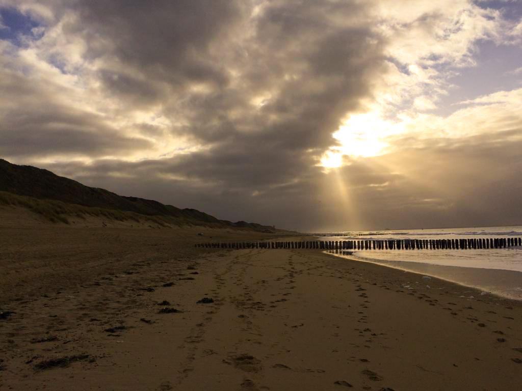 Reflectie in een adembenemend Zeeuws landschap