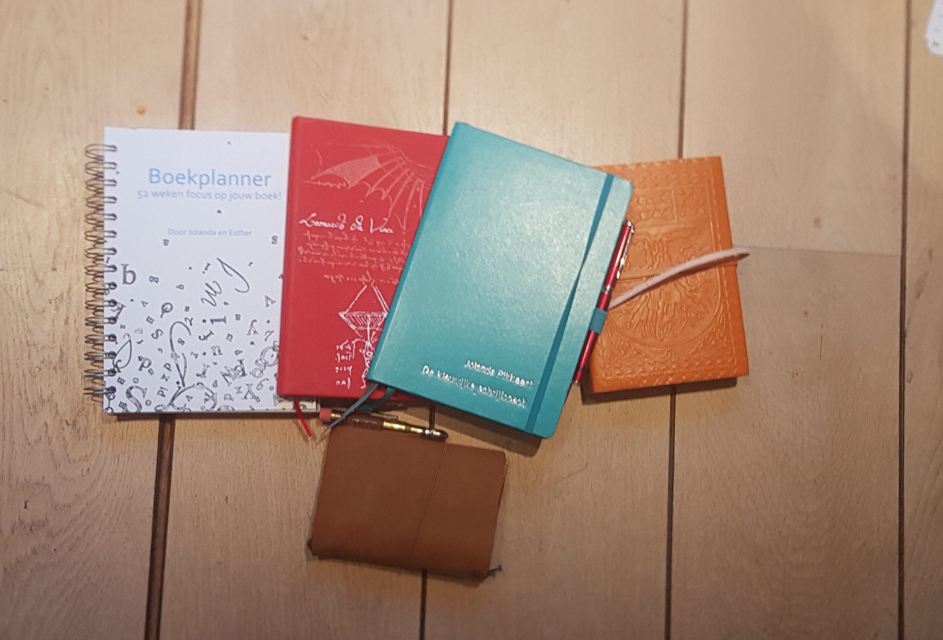 Wat schrijf jij in je notitieboekje?
