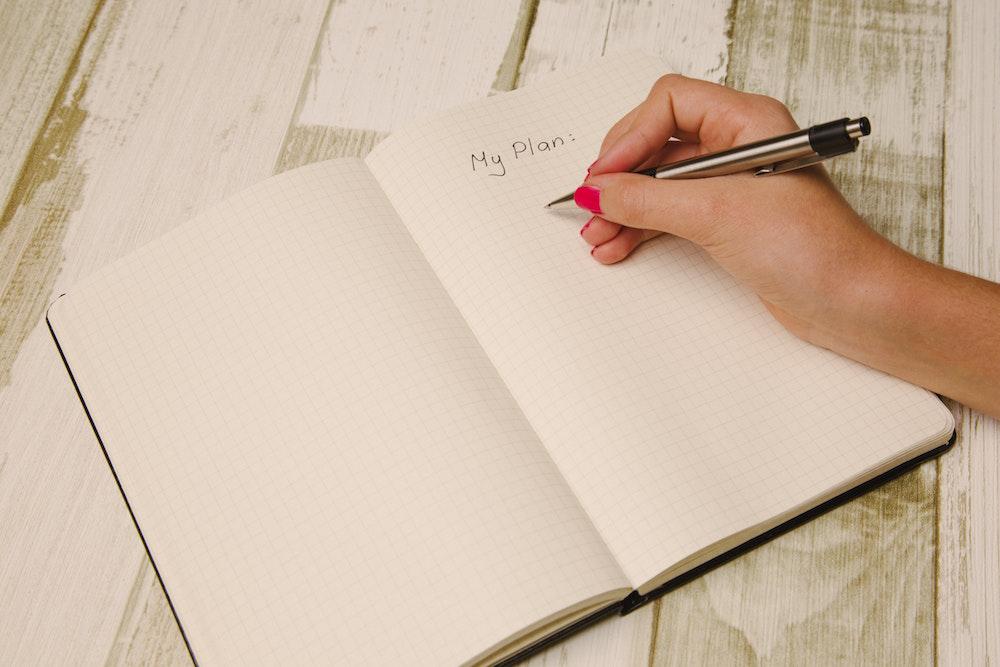Hoe je je doel omzet in een concreet plan