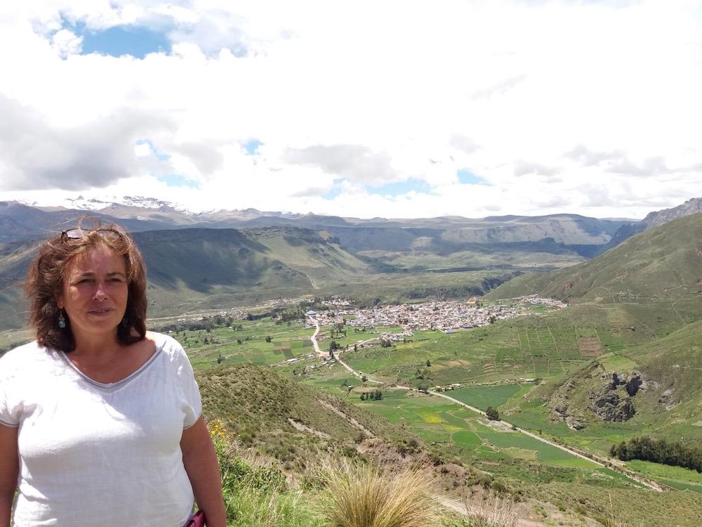 Een dynamische massage in de Peruaanse bus