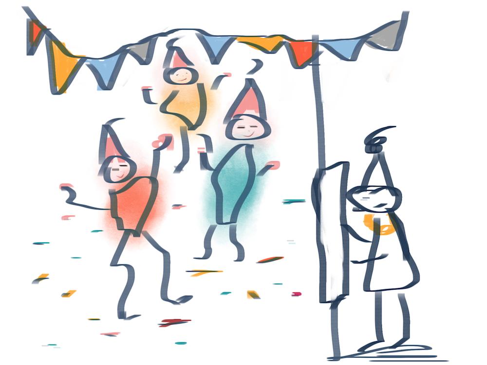 Niet uitgenodigd op mijn eigen feestje