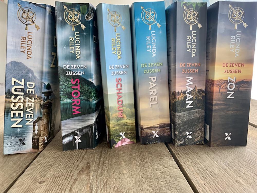 Hoe ik 'De zeven zussen' boeken verslond tijdens de lockdown