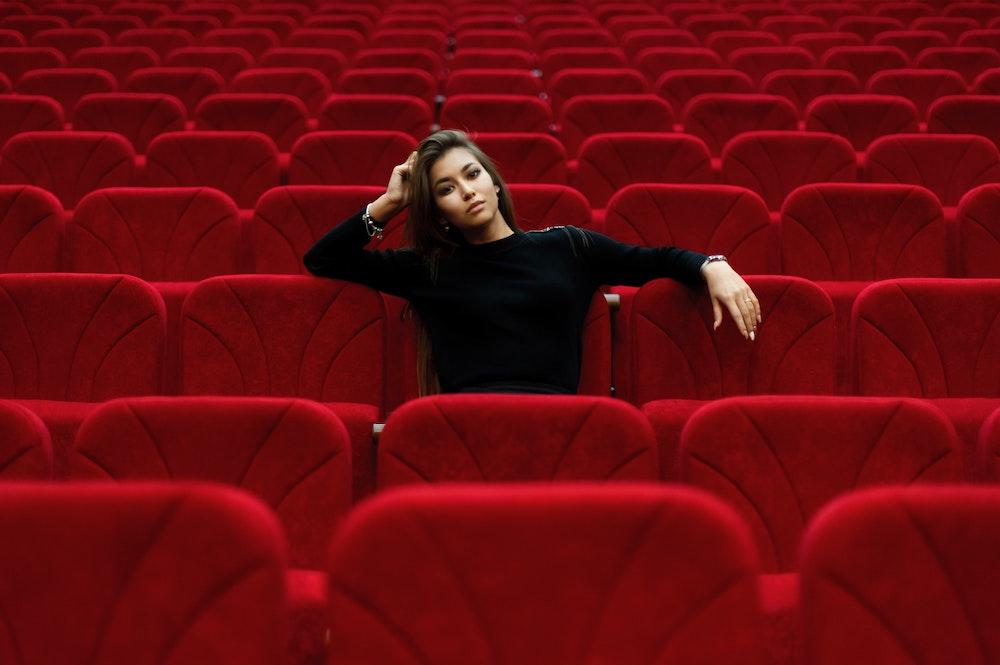 Eenzaam in het theater