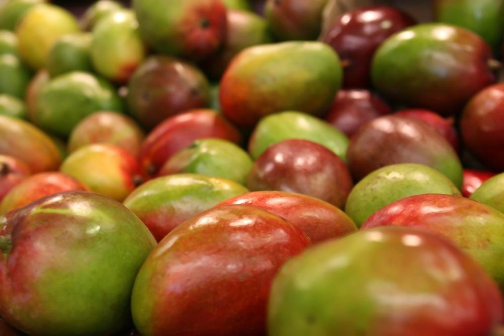 Een mango in het Mandarijn