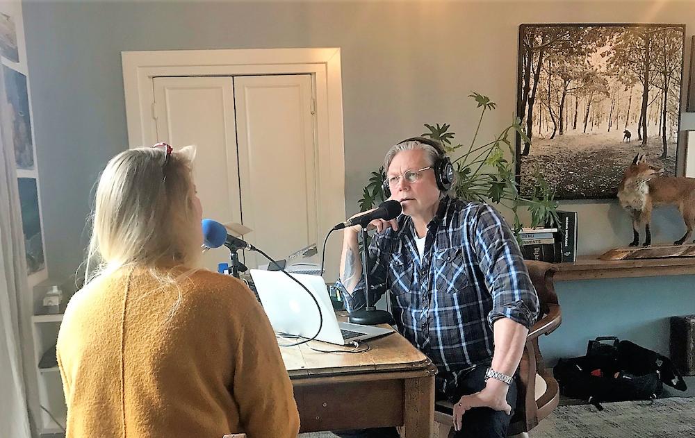 Een interview met een echte radio- en televisiemaker over mijn boek
