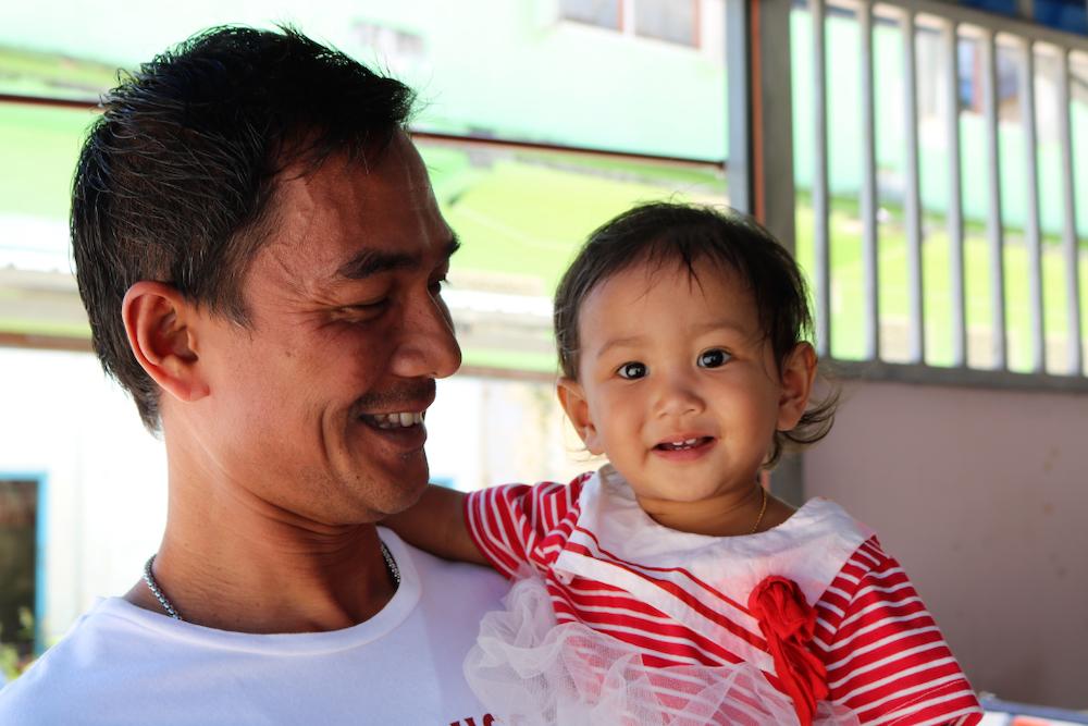 Het geluk ligt op straat in Thailand