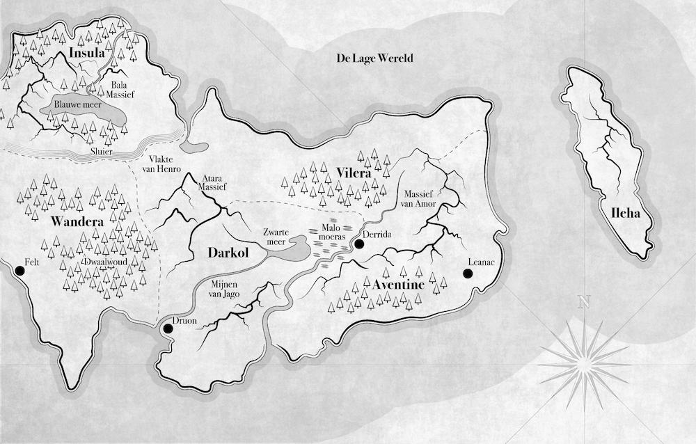 Hoe creëer je een fantasy-wereldkaart?