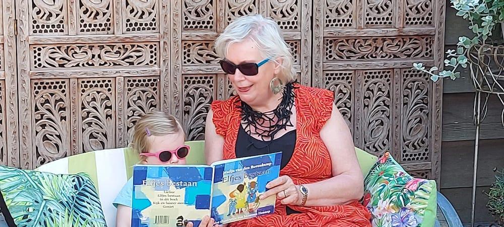 De betrokkenheid van opa en oma bij de leesopvoeding van hun kleinkinderen