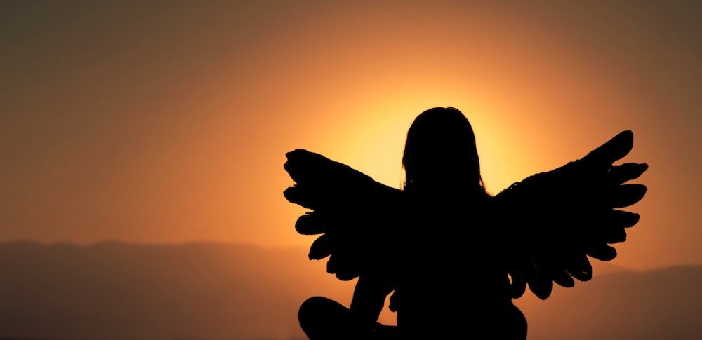 Als je op jezelf vertrouwt, krijg je vleugels