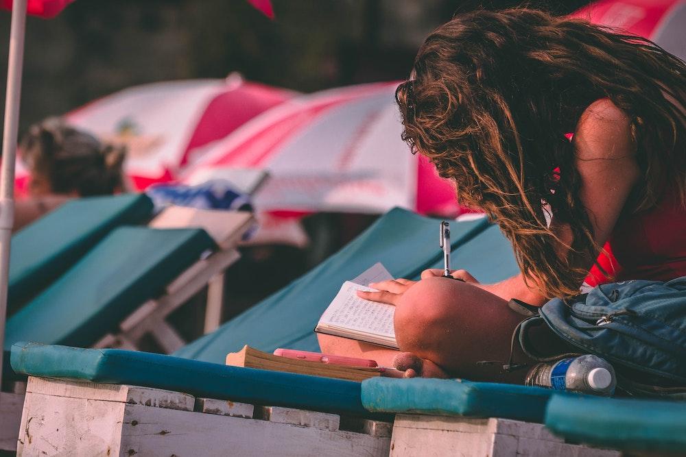 Creatief schrijven tijdens je vakantie