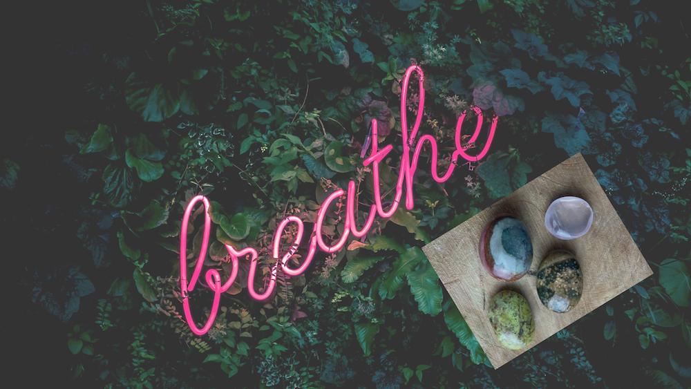 Adem in, adem uit stenen voor jou